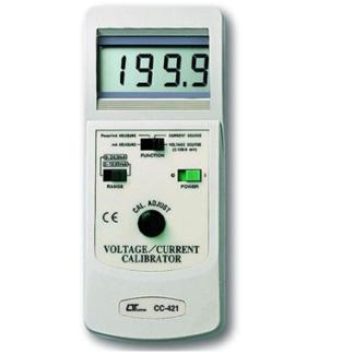 Current+Voltage calibrator, Lutron,CC422